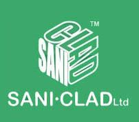 Company logo for SaniClad Hygienic Walls & Ceilings Ltd